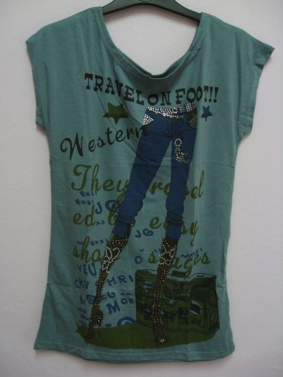 T-jeans - Green