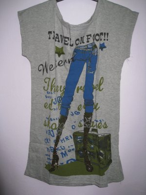 T-jeans - Grey