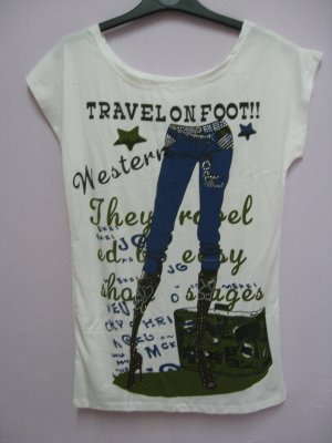 T-jeans - White