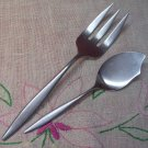 AMC VENICE SERVING FORK & SERVER STAINLESS FLATWARE SILVERWARE