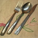 AMERE AEF 11 AEF11 KNIFE SPOON FORK STAINLESS FLATWARE SILVERWARE