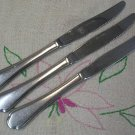 ONEIDA MANSION 3 PLACE KNIVES NORTHLAND STAINLESS FLATWARE SILVERWARE