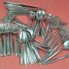 ONEIDA LTD SL & GH ROGERS PARAMOUNT 71pc/9Place settings+ xtras STAINLESS FLATWARE SILVERWARE