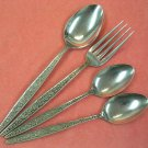 INTERPUR INR 32 INR32 3 SPOONS & FORK STAINLESS FLATWARE SILVERWARE