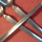 SRI STANLEY ROBERTS CORTINA 3 ICED DRINK SPOONS STAINLESS FLATWARE SILVERWARE