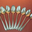 INTERNATIONAL WM ROGERS EXQUISITE 8 PLACE SPOONS 1940 SILVERPLATE FLATWARE