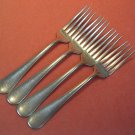 MEDCO WINDSOR 1500 4 PLACE FORKS STAINLESS FLATWARE SILVERWARE
