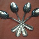 BARCLAY GENEVE BAG18 BAG 18 4 PLACE SPOONS STAINLESS FLATWARE SILVERWARE