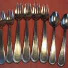 GOURMET SETTINGS Unknown Pattern 8pc GS STAINLESS FLATWARE SILVERWARE