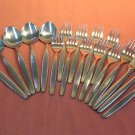 REED & BARTON RDS 9 RDS9 18pc SELECT STAINLESS FLATWARE SILVERWARE