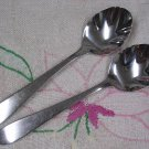 RETRONEAU KENT PLACE & 2 SUGAR SPOONS STAINLESS FLATWARE SILVERWARE