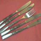 ONEIDA REBECCA FORK & 4 KNIVES NORTHLAND STAINLESS FLATWARE SILVERWARE