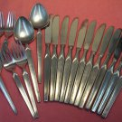 SRI STANLEY ROBERTS CORTINA 49pc ALL MY CORTINA LISTINGS STAINLESS FLATWARE SILVERWARE