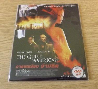 MICHAEL CAINE BRENDAN FRASER THE QUIET AMERICAN MOVIE DVD 2002 THAI LANGUAGE