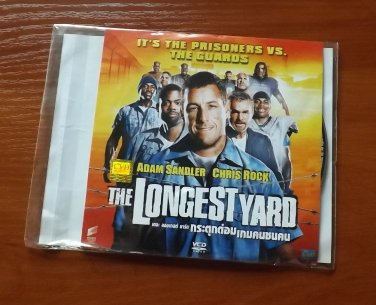 ADAM SANDLER BURT REYNOLDS CHRIS ROCK THE LONGEST YARD MOVIE DVD 2005 THAI LANGUAGE
