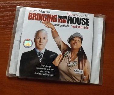 STEVE MARTIN QUEEN LATIFAH BRINGING DOWN THE HOUSE MOVIE DVD 2003 THAI LANGUAGE