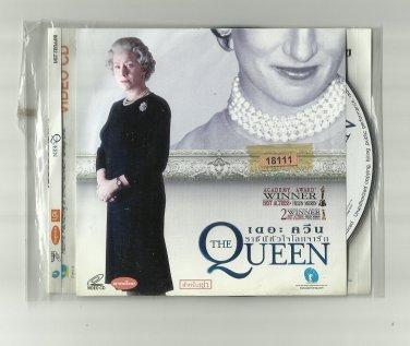 THE QUEEN  HELEN MIRREN  MOVIE DVD 2006 THAI LANGUAGE