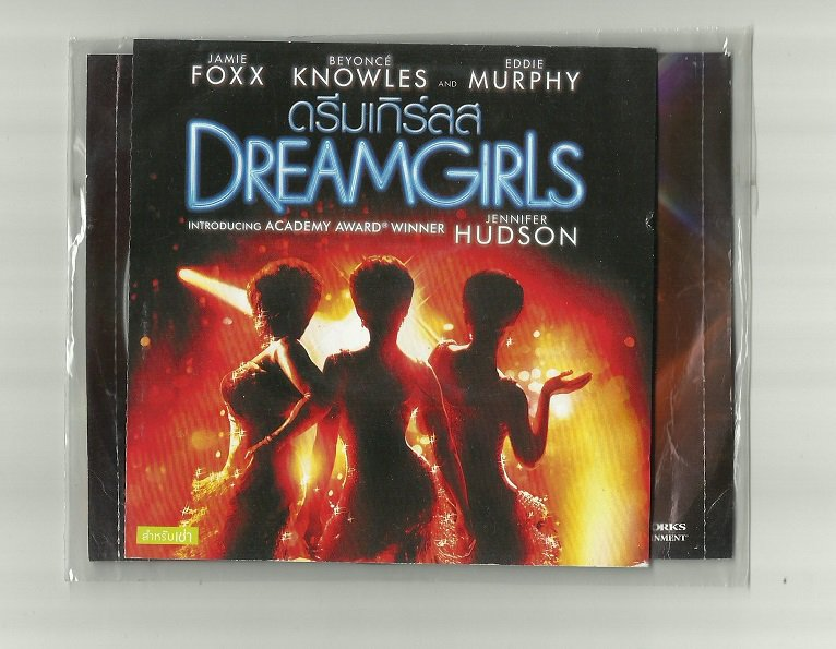 DREAMGIRLS JAMIE FOXX BEYONCE EDDIE MURPHY JENNIFER HUDSON MOVIE DVD 2006 THAI LANGUAGE