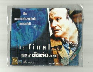 THE FINAL CUT  ROBIN WILLIAMS JIM CAVIEZEL MIRA SORVINO MOVIE DVD 2004 THAI LANGUAGE