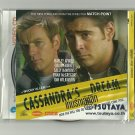 CASSANDRA'S DREAM  COLIN FARRELL EWAN McGREGOR SALLY HAWKINS  MOVIE DVD 2007 THAI LANGUAGE