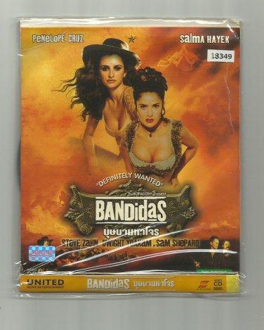 BANDIDAS    PENELOPE CRUZ SALMA HAYEK STEVE ZAHN MOVIE DVD 2006 THAI LANGUAGE