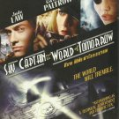 SKY CAPTAIN AND THE WORLD OF TOMORROW  JUDE LAW GWYNETH PALTROW ANGELINA JOLIE  MOVIE DVD 2004