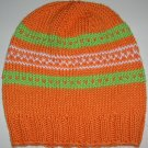 Orange/Lime/White Hat