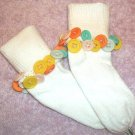 Citrus Buttons Bauble Socks