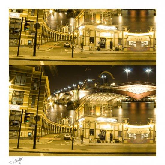 city - 28x28cm, paper print. (London)