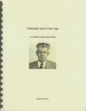 Book - Yesterday Was A Year Ago
