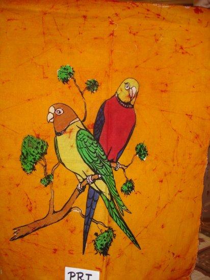 Parrots- Batik Painting