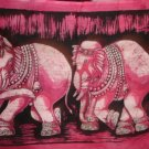Elephants Batik Painting