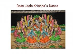 Raas Leela Krishna's Dance- Batik Painting