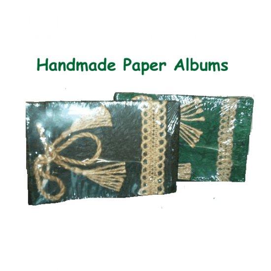 Handmade Paper Photo Albums- set