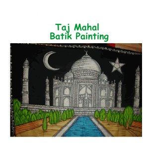 Taj Mahal - Batik Painting