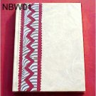 Handmade Paper Journal - Cream