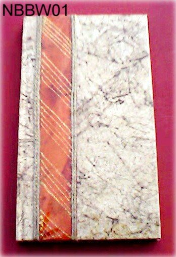 Handmade Paper Journal - Brown