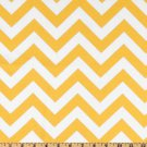 TABLE RUNNER- ZigZag Yellow/White Chevron Print