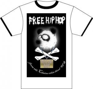 Free Hip Hop Tee - White