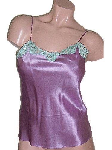 Viamode Purple Silk Camisole Cami Small