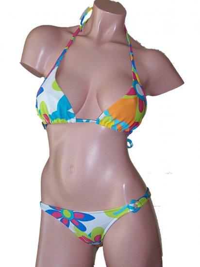 Rygy Oasis Bahia Triangle Rio Bikini Swimsuit Large
