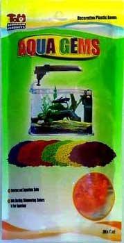 2 Tom Oscar Aqua Gems 7 Oz Electric Orange