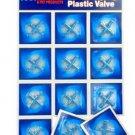 Plastic 3 - way Valve (12/cd)