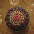 Hand Crocheted ornament 2