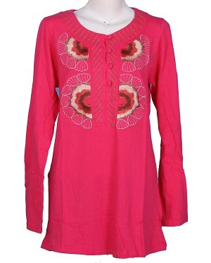 Embroidery Blouse Type EB01 - PINK