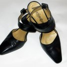 Yves Saint Laurent YSL Black Leather Heels Pumps 36/6