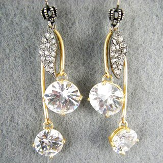 Juicy Couture 14K Yellow Gold-Plated Bling Cherry Drop Earrings (New Arrival)