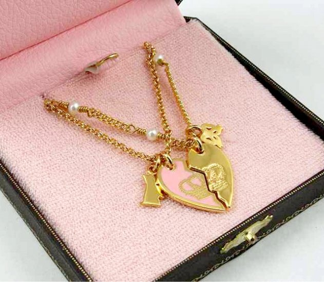 Juicy Couture Girls BFF Sharing Necklace