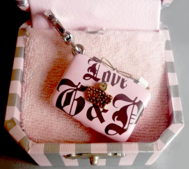 Juicy Couture Laptop Computer Charm