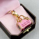 Juicy Couture Yorkie Dog Carrier Charm